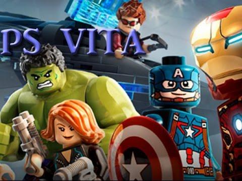 Lego Marvel Avengers PS VITA open world gameplay - YouTube