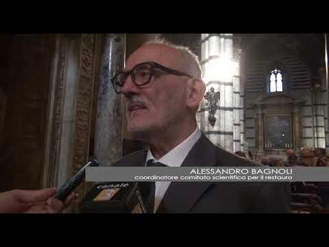 Primo piano - Restauro del Pulpito del Duomo di Siena