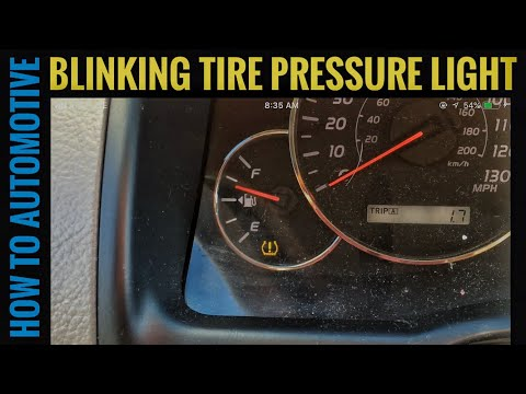 How to Diagnose a Blinking Tire Pressure Light on a Toyota and Lexus