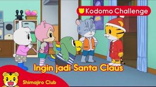 Shimajiro I Ingin jadi Santa Claus
