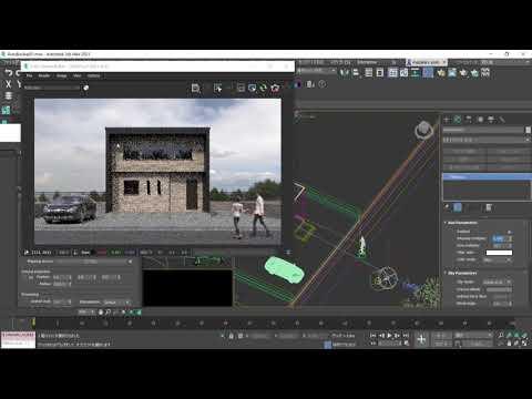 3ds Max × ビジュアライゼーション 第7回:V-Rayでの環境光設定