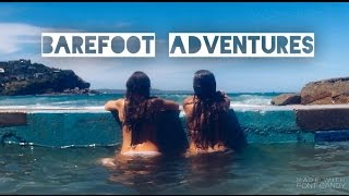 barefoot adventure . two