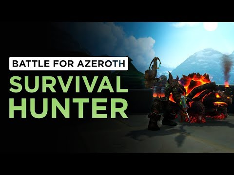HUGE Spec Overhaul! But, is it Good? Survival Hunter | WoW: Battle for Azeroth - Beta [2nd Pass]