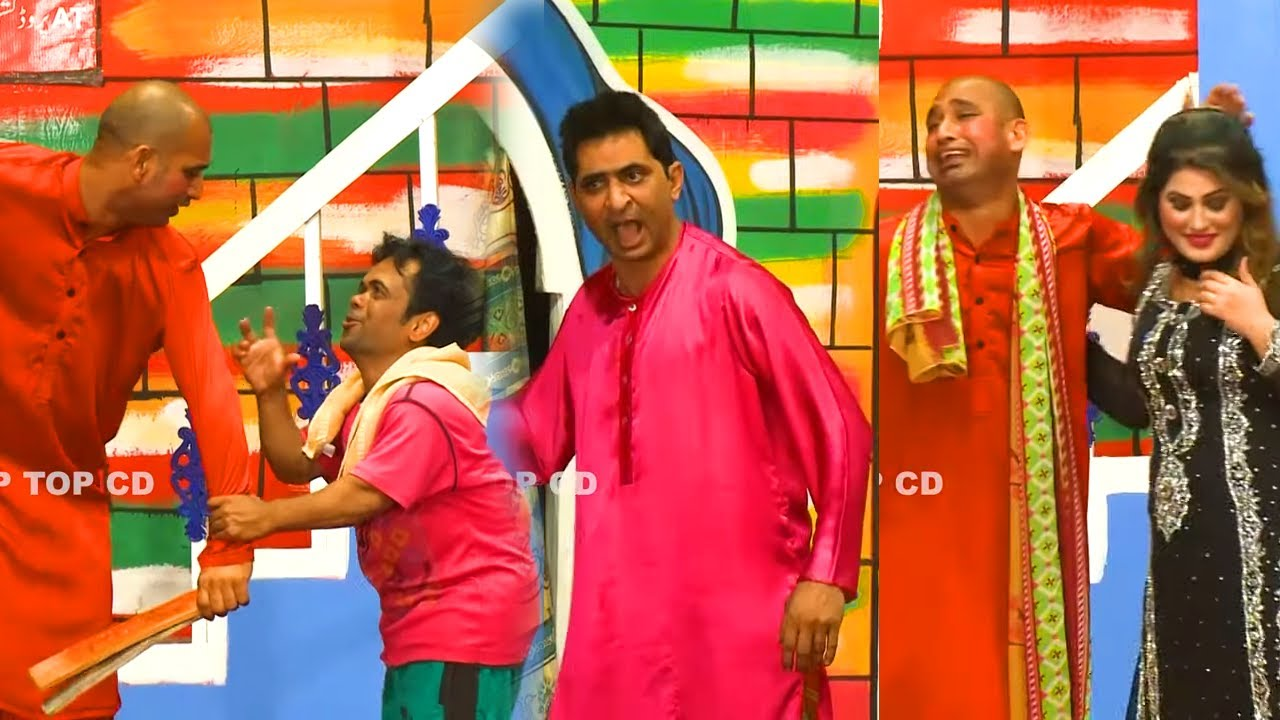 Vicky Kodu and Amjad Rana with Shoka Shakotia (NEW) | Stage Drama Dil Deke Dekho | Comedy Clip 2020