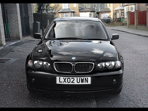 2002 bmw 316 e46 video review engine starting driving youtube. Black Bedroom Furniture Sets. Home Design Ideas