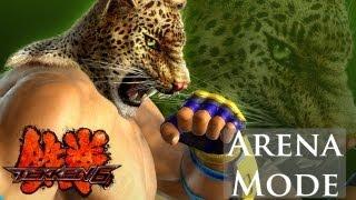 Tekken 6 - Arena Mode - King