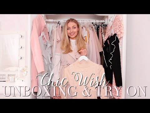 TESTING CHIC WISH ~ UNBOXING & TRY ON ~ Freddy My Love