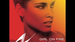 Alicia Keys - Girl On Fire (Instrumental) (Lyrics in description)