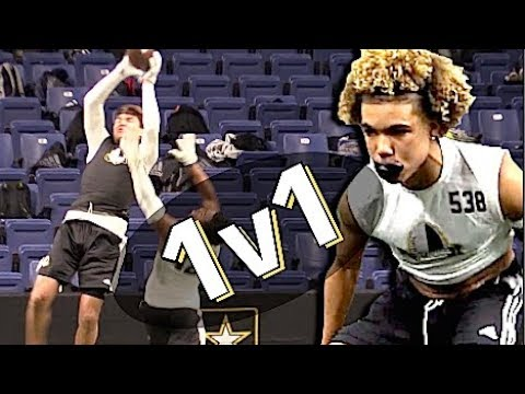 🔥🔥 Wow !! Crazy Highlights | U.S Army All-American Combine | WRs V DBs 1-on-1| Part One