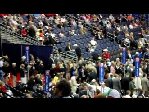 Delegate Walk Out