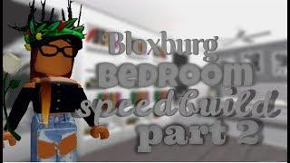 BLOXBURG BEDROOM SPEEDBUILD PT 2 || ROBLOX BLOXBURG
