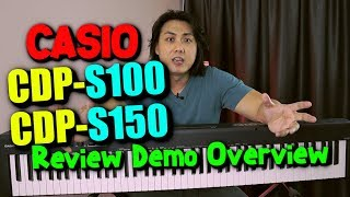 Latest CASIO CDP-S100 & CDP-S150 | Affordable Beginner Piano Keyboard Review & Demo