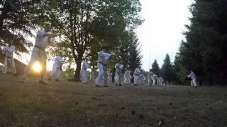 Aikido Kraków Aikikai. Obóz Bukowno 2015