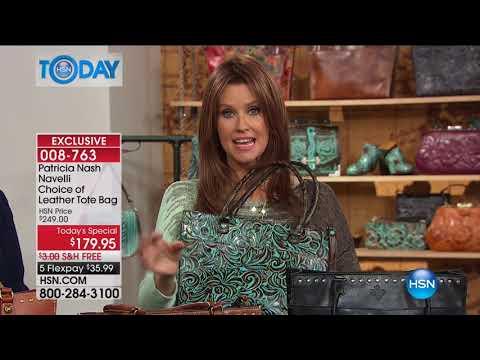 HSN | HSN Today: Patricia Nash Handbags 08.15.2017 - 08 AM