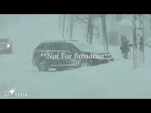 Geneseo, NY - Winter Storm Olympia - February 16th, 2016 - Cary Meltzer