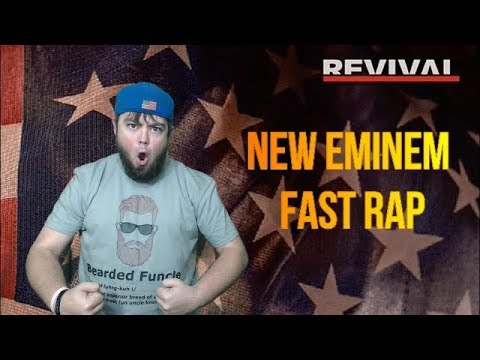 RAPPING THE *NEW* EMINEM FAST VERSE FASTER THAN EMINEM (WORLD'S FIRST COVER OF EMINEM'S OFFENDED)