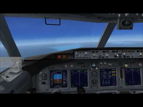 FSX Mission Limited Options (Landing at Male)  限られた選択肢
