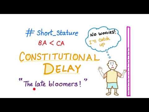 Constitutional delay (short stature)!