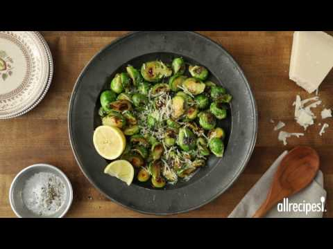 How To Make Parmesan Brussels Sprouts | Side Dish Recipes | Allrecipes.com