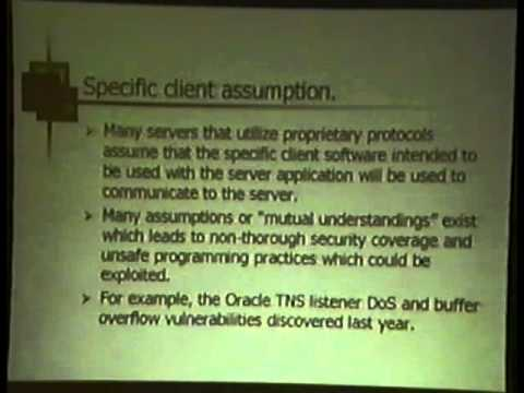 Black Hat USA 2002 - Professional Source Code Auditing