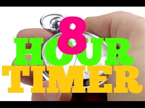 8 Hour Timer With Loud Alarm Sleeping Timer