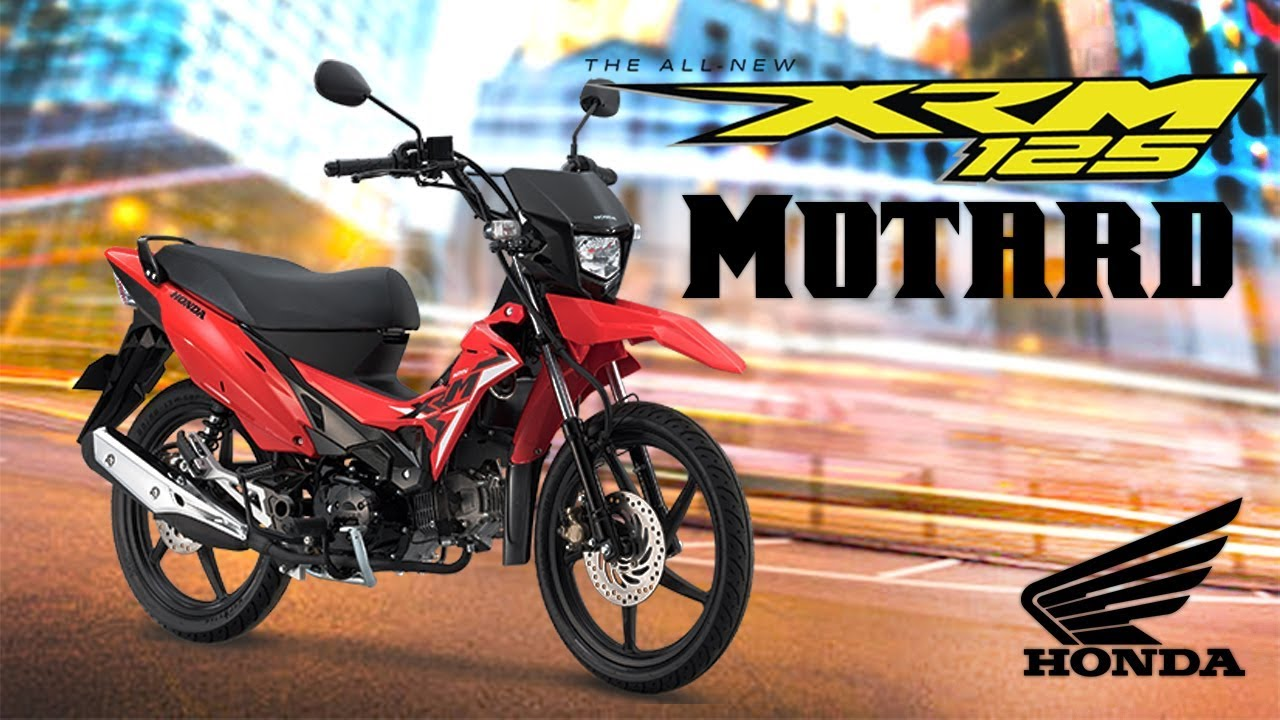 Xrm125 motard pgm fi series color red honda philippines motorsiklo