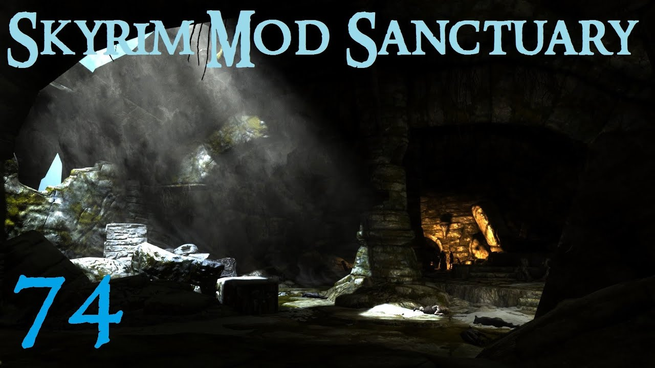 Skyrim Mod Sanctuary 74 : Realistic Lighting Overhaul, Enhanced Lights and  FX, Immersive Interiors