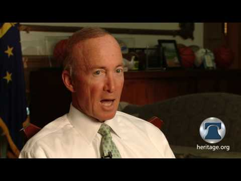 Exclusive Video: Gov. Mitch Daniels on Obamacare's Devastating Consequences