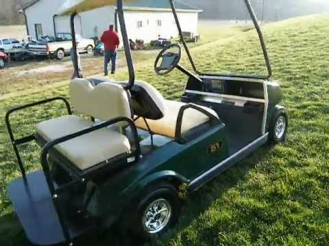 2003 club car ds 48 volt golf cart youtube. Black Bedroom Furniture Sets. Home Design Ideas