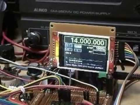 Multi-Band DDS VFO controller (Ver 4) Added Keypad by JA2NKD