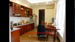 Hanoi lake view apartment for rent in Truc Bach area, 2 bedroom, fully furnished