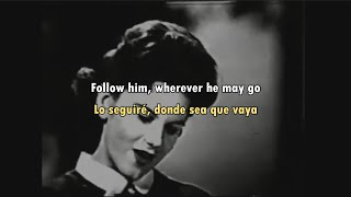 Peggy March - I Will Follow Him (Sub Español/English) Lyrics/Letra