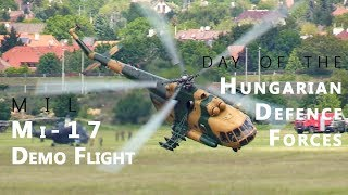 702, Mil Mi-17 helicopter demo flight