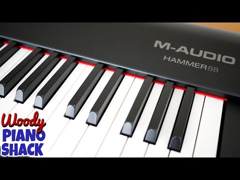 M-AUDIO HAMMER 88 unboxing and review