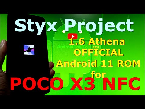 Styx Project 1.6 Athena OFFICIAL for Poco X3 NFC (Surya) Android 11