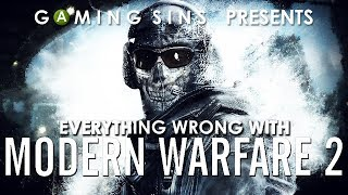 Everything Wrong With Call of Duty: Modern Warfare 2 In 16 Minutes Or Less | GamingSins