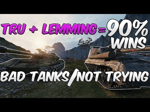 World Of Tanks: 90% Platoon Winrate With Bad Tanks