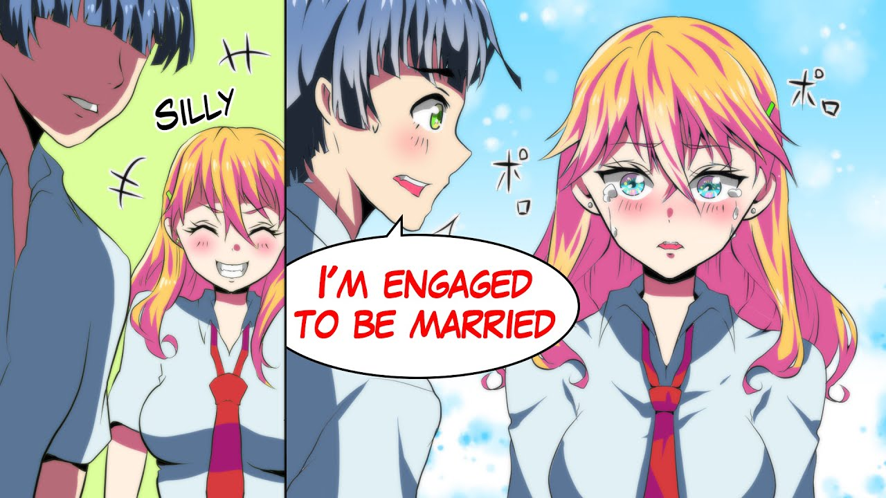 Cuz The Gyaru Made Fun Of Me, I Lied To Her That I Was Engaged