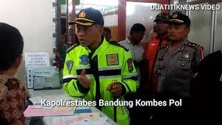 Puluhan Siswa dan Guru SD Keracunan, Kapolrestabes Bandung langsung kunjungi korban di RS