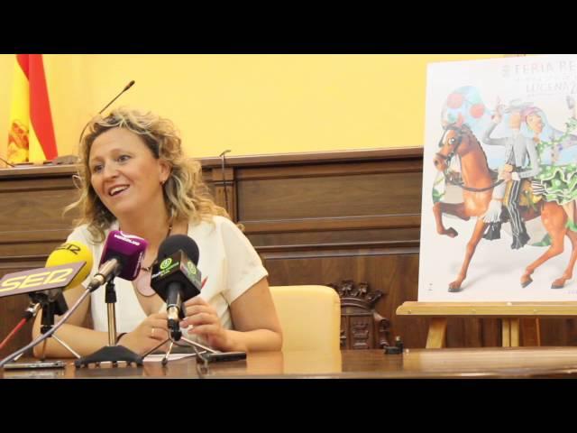Vídeo: Presentado el cartel de la Feria del Valle 2016 y recorrido por la exposición del resto de trabajos participantes