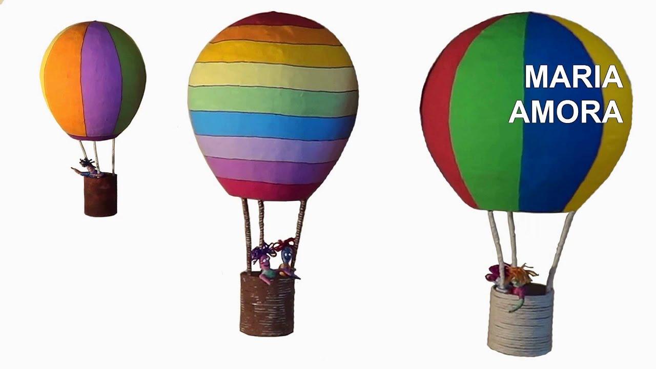 DIY Decorao Artesanato: Balo / Decoration Craft: Balloon / Artesana  Decoracin: Balloon