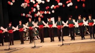 """Танц """"Гергьовден"""" в изпълнение на ДЮФА """"Загорчета"""""""