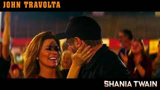 Shania Twain & John Travolta : Movie : ( Trading Paint : 2019 )