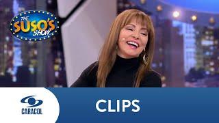 María Auxilio le cuenta a Suso cómo fueron sus primeras imitaciones | Caracol Televisión