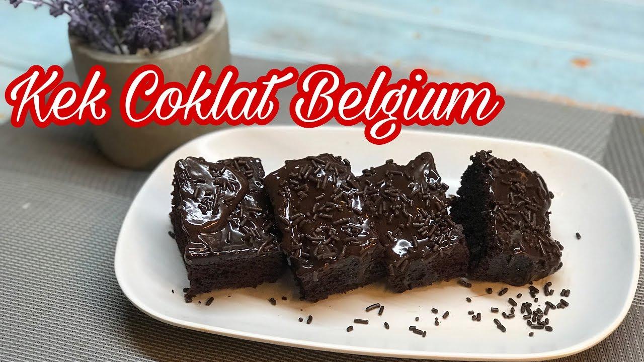 Resepi Kek Coklat Belgium Yang Sedap Sangat