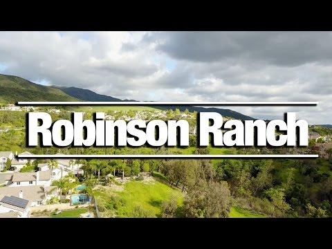 Robinson Ranch  -  Rancho Santa Margarita  - Trabuco Canyon -  DJI Drone Footage 4k