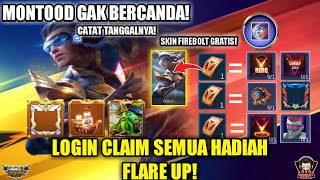 CLAIM DAPATKAN SKIN BRUNO FIREBOLT GRATIS EVENT FLARE UP TOKEN MOBILE LEGENDS 2020