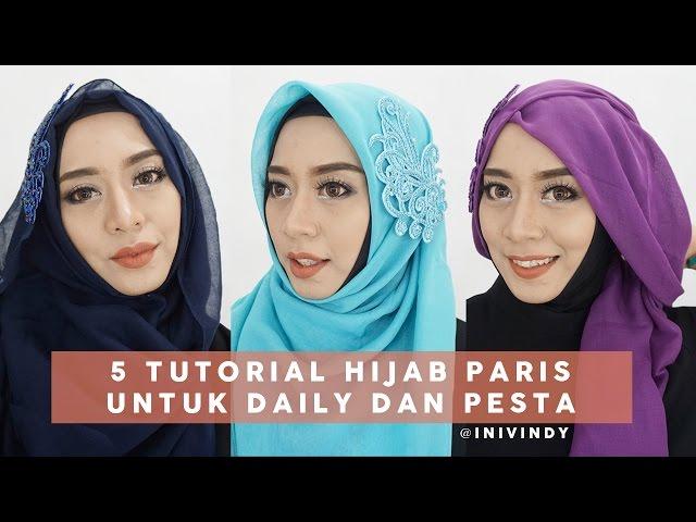 45 Tutorial Hijab Simple Segi Empat Terbaru Dan Kekinian Hijabyuk Com