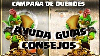 CAMPAÑA DE DUENDES #1 - 3 ESTRELLAS - Anikilo - A por todas con Clash of Clans - Español