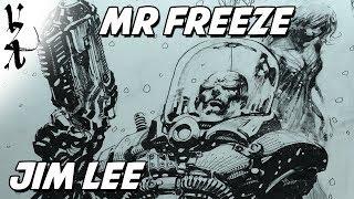 Jim Lee drawing Mr Freeze